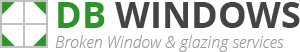Caernarfon Broken Window Logo